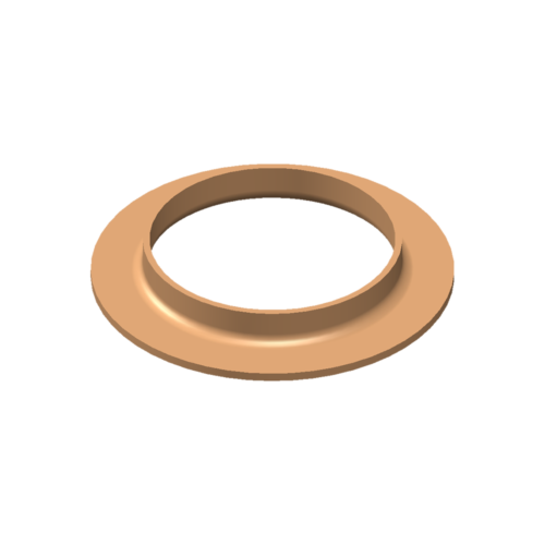 V-Bördel, 42×1,5, Cu-DHP