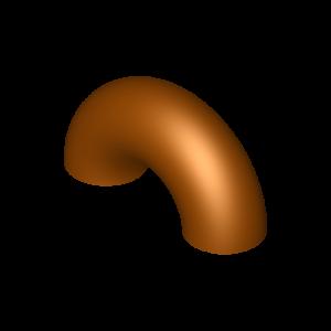 Bogen aus Kupfer-Nickel