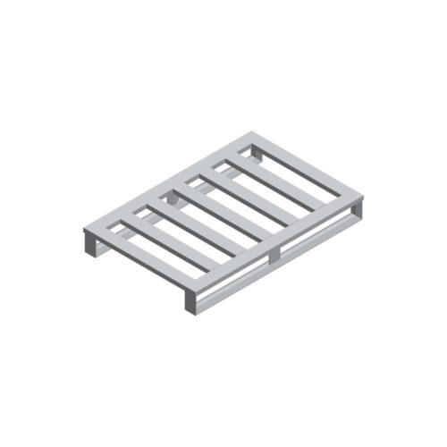 Aluminium-Palette 1200x800x150 mm, 2KT/5 QS