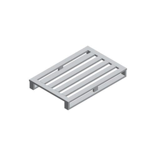 Aluminium-Palette 1200x800x150 mm, 2KR/4 LS