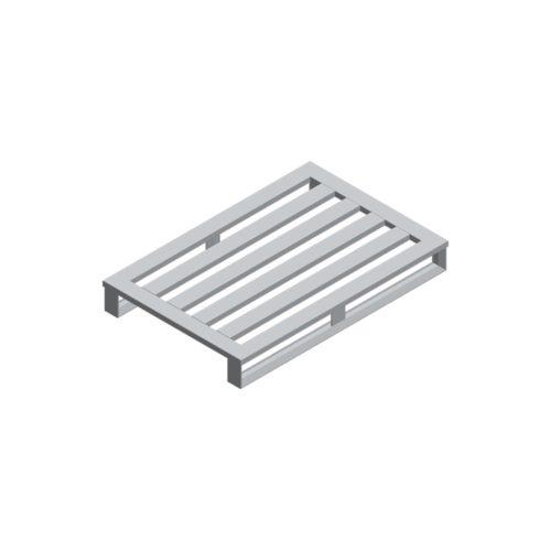 Aluminium-Palette 1200x800x150 mm, 2KT/4 LS